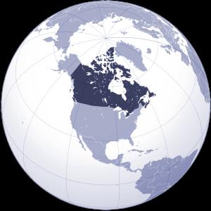 Kanada Nerede Harita Üzerinde